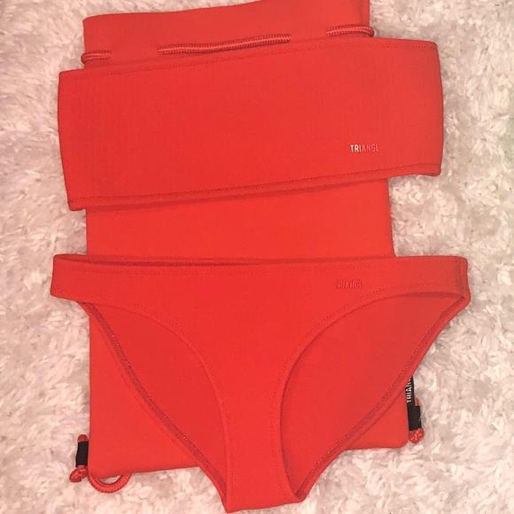 triangl swimwear Other - triangl twinnie- razz w/new photos